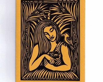 6 card set- The Romance of Laukaieie