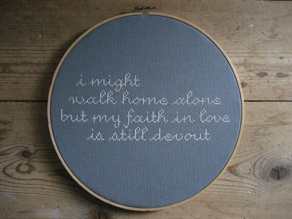 my faith in love.... smiths stitches