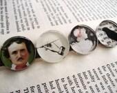 Edgar Allan Poe Magnet Set
