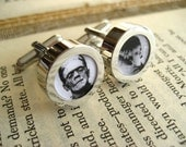 Frankenstein and The Bride Cufflinks