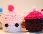Ice cream and Cupcakes crochet pattern- PDF