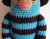 Sock Monkey Crochet pattern- PDF