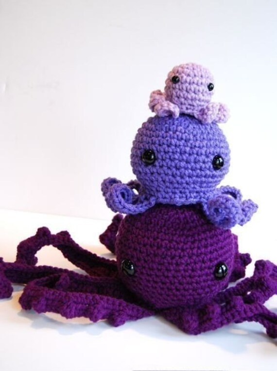 Octopus Pattern Crochet Octopus Crochet Patterns 3