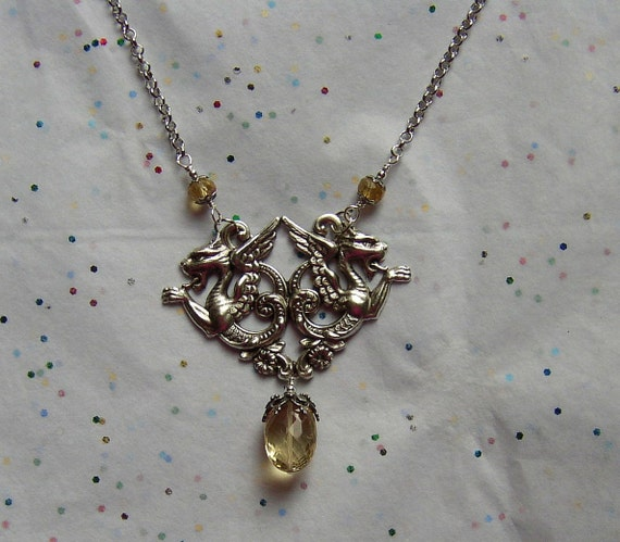 The Sacred Dragon Necklace