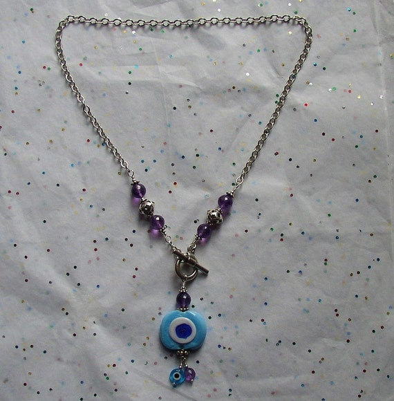 In the Eye of the Dream Necklace
