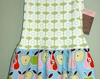 SALE // Last one // Apples and Pears Tank Dress // Only size 3T