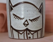 Sleepy Owl Mug