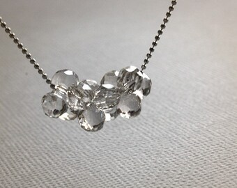 Cloud Imagination - Swarovski Crystal Necklace