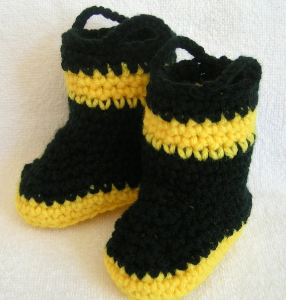 Baby Firefighter Boots  Made to Order
