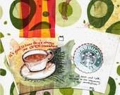Starbuck's minute (Print)