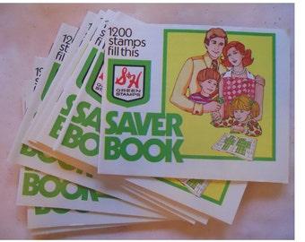One Dozen Unused Green Stamp Books
