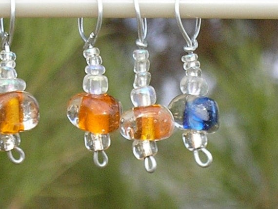Clearance - Bodes Galaxy stitch markers (set of 4)