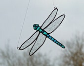 Aqua Teal Darner Dragonfly - Mother's Day Gift