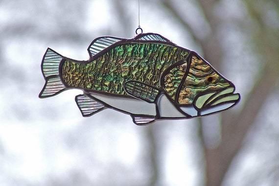 Stained Glass Largemouth Bass