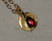 Persephone in gold Necklace