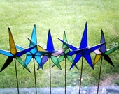 Stained glass star wand
