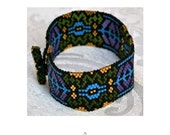 Pattern For Vineyard Windows Art Deco Cuff