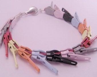 Rainbow Bright Zippity Doo Dah Zipper 7.5 Inch Bracelet