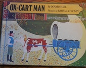 Ox-Cart Man by Donald Hall - Vintage Childrens Book