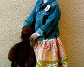 CHILDREN -Extra Full Skirt - Pick the size Newborn up to 12 years - by Boutique Mia