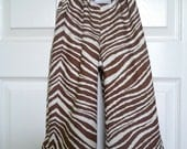 CHILDREN -Samurai Pants - Zebra - 2 Years of Fashion - Pick the size Newborn up to 8 Years by Boutique Mia