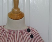Peasant Mini Dress with the 'EXTRA TOUCH' - Nautical - Pick the size Newborn up to 12 Years - by Boutique Mia