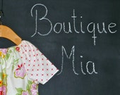 CHILDREN - Peasant DRESS - Heather Bailey - Nicey - Pick the size Newborn up to 12 Years - by Boutique Mia