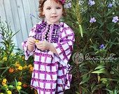 Tuxedo Mini DRESS - Laurie Wisbrun - Tufted Tweets - Pick the size Newborn up to 14 Years - by Boutique Mia