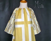 CHILDREN -Peasant Mini Dress - Vicki Payne - Pick the size Newborn up to 12 Years - by Boutique Mia
