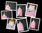 Reversible CAPELET - Tanya Whelan - Pick the size Newborn to 12 Years - by Boutique Mia