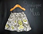 BUY 2 get 1 FREE - Skirt - Sandi Henderson - Secret Garden - Pick the size Newborn up to 14 Years by Boutique Mia