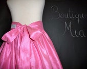 Dupioni Silk Floor Length SKIRT - Pick the size Newborn up to 12 Years - by Boutique Mia