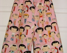 CHILDREN -Samurai Pants - Alexander Henry - Yui - 2 Years of Fashion - Pick the size Newborn up to 8 Years by Boutique Mia