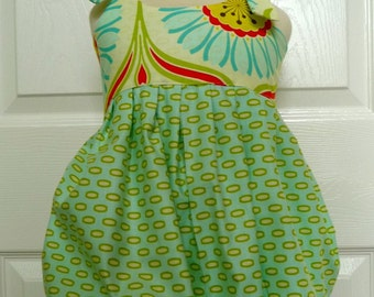 CHILDREN -Balloon Dress - Heather Bailey - Pick the size 0 month up to 12 Years - by Boutique Mia