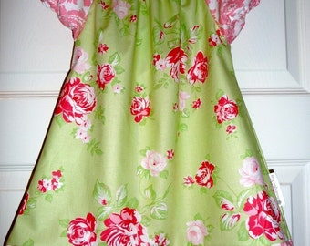 CHILDREN -A-line Mini Dress - Tanya Whelan - Pick the size Newborn up to 12 Years - by Boutique Mia