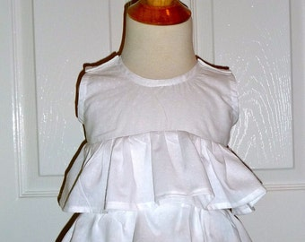 Shabby Chic TOP - Pick the size Newborn up to 8 Years by Boutique Mia