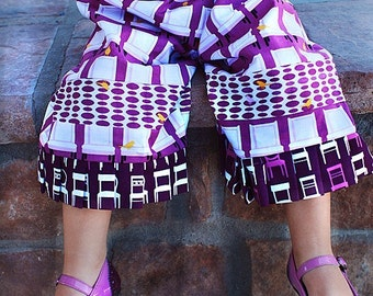 CHILDREN -Samurai Pants - Robert Kaufman - Pick the size Newborn up to 8 Years by Boutique Mia