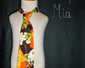 CHILDREN - Necktie for the BOY or MAN in your life - Pick the size Newborn to Adult Size by Boutique Mia