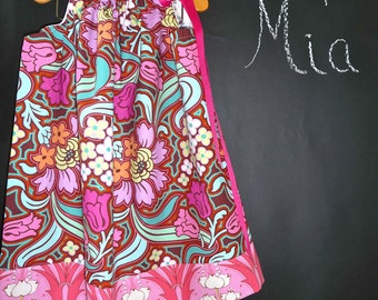 Pillowcase DRESS - Amy Butler - 2 Years of Fashion - Pick the size Newborn up to 12 Years - by Boutique Mia