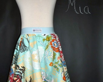 Circle SKIRT  - Alexander Henry - Koto - Pick the size Newborn up to 12 Years by Boutique Mia