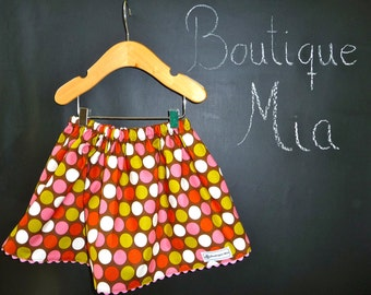 BUY 2 get 1 FREE - Skirt - Zoe Pearn - Indian Summer - Pick the size Newborn up to 14 Years by Boutique Mia