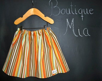 BUY 2 get 1 FREE - Skirt - Amy Butler - Lotus- Pick the size Newborn up to 14 Years by Boutique Mia