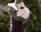 Custom Bunny Puppets
