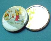 Childrens Book Illustrations 2-25in Pocket Mirror
