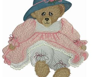 Treasure Bears Machine Embroidery