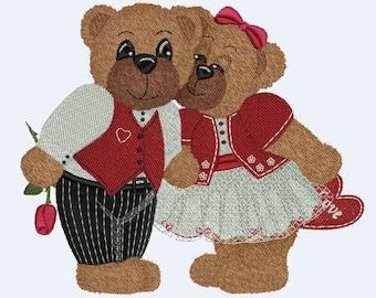 Treasure Bears 2 Machine Embroidery