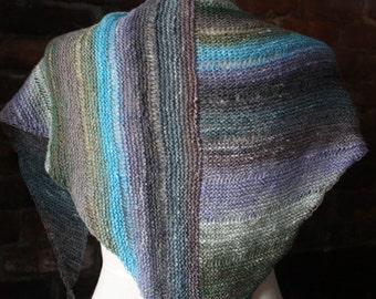 Knitting Pattern for Chaya Shawl and Shawlette