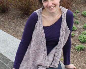 Knitting Pattern for Adrie Vest
