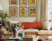 African Art | Fine Art PRINT Set