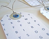 Word Search - gift tags